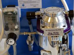 21. Unitate portabila de anestezie