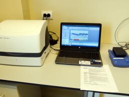 11. Sistem electroforeza cu gel pentru ADN, ARN sau proteine