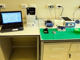5. Sistem electroforeza capilara on-chip cu tehnologie microfluidica