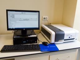 7. Spectrofotometru - sistem orizontal si vertical de electroforeza